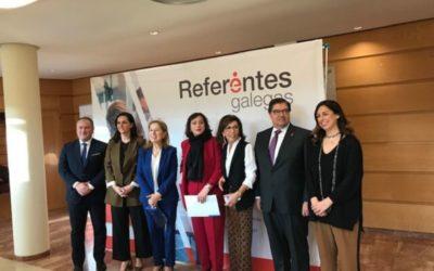 Éxito de participación na presentación Referentes  Galegas na Coruña