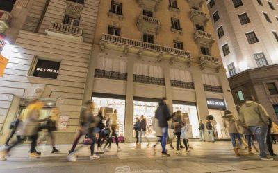 Nueva tienda Decimas en la Gran Vía de Madrid