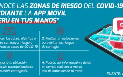 Gobierno implementó aplicativo «Perú en tus Manos» para prevenir el Coronavirus