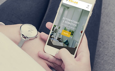 Sitio web Solar Cortinas