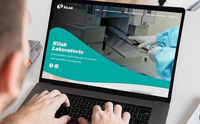 Sitio web Laboratorio Kilab