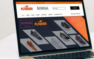 Sitio web Flasher