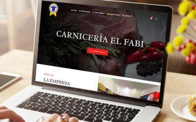Sitio web Carnicería El Fabi