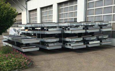 Debrunner Acifer AG setzt für die Intralogistik auf Langgutwagen von SIMPLY.