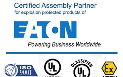 Spike Electric Controls Is Now the Sole Certified Eaton IECEx Certified Assembly Partner in North America for ECP Enclosure Motor Control Electrical Apparatus