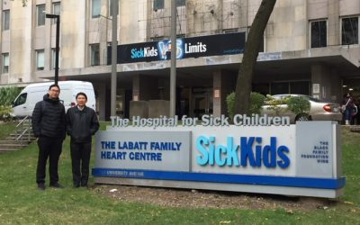 Thai Surgeons visit SickKids Hospital in Toronto