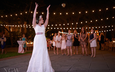 Ryan & Abby's Historic Charleston Wedding Reception at Gibbes Museum