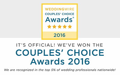 Wilmington Uplighting Wins a WeddingWire Couples' Choice Award® 2016