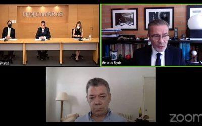 Juan Manuel Santos: Hay que hacer sacrificios para lograr la paz