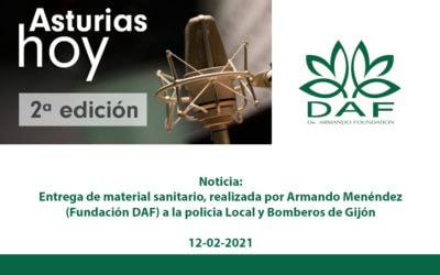 Entrevista en la RTPA -Asturias Hoy 2º edición
