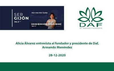 ONG DAF en Hoy por Hoy Gijón