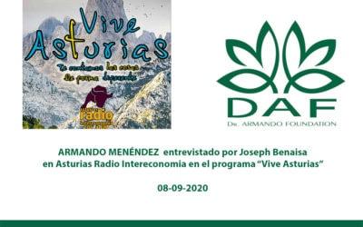 "Armando Menéndez en ""VIVE ASTURIAS"""
