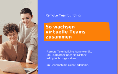 Teambuilding bei remote Teams
