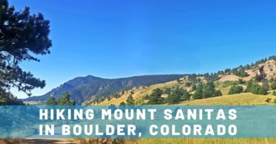 Morning Hike Up Mount Sanitas in Boulder