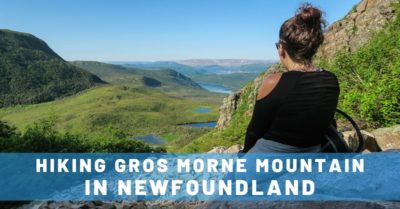 Hiking Gros Morne Mountain in Newfoundland