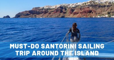 Must-Do Santorini Sailing Trip: An Unforgettable Perspective of the Island
