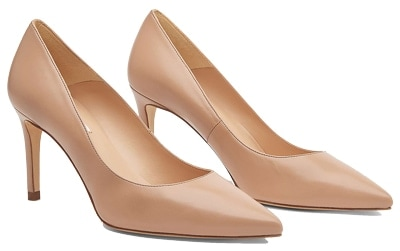 wear nude pumps to get the Duchess of Cambridge's style | 40plusstyle.com