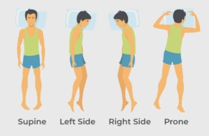 sleeping positions to alleviate your back pain