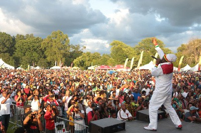 Capleton Closes Grace Jerk Festival on A High at the 9th Staging of the event at Roy Wilkins Park in Queens