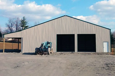 Pole Barn Built By McManus Construction