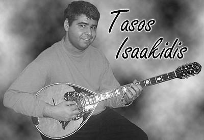 Tasos Issaakidis is a Greek bouzouki teacher in Toronto