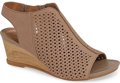 Comfortiva wedge sandal | 40plusstyle.com