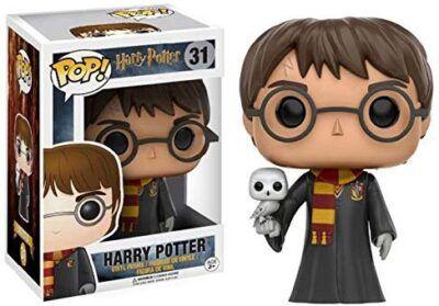 Funko Pop Harry Potter con Hedwig