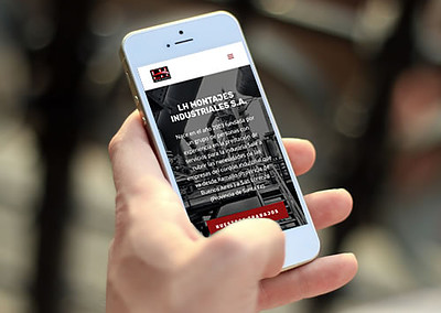 Sitio web LH Montajes Industriales
