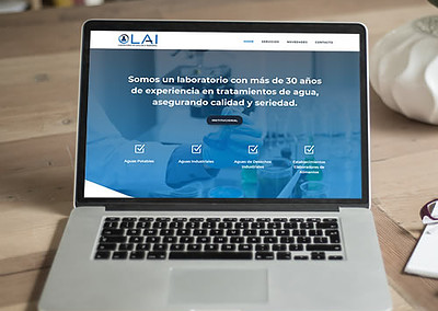 Sitio web Laboratorio LAI