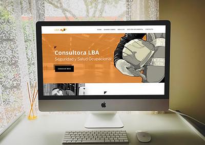 Sitio web Consultora LBA