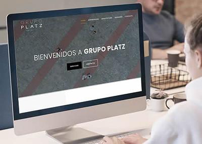 Sitio web Grupo Platz