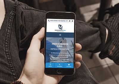 Sitio web Merochenich