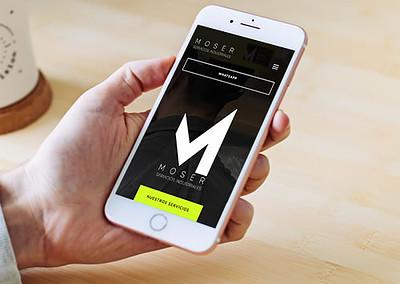 Sitio web Moser Servicios