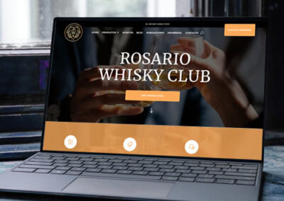 Sitio web Rosario Whisky Club