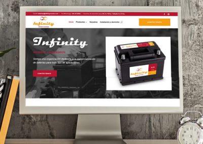 Sitio web Infinity Rosario