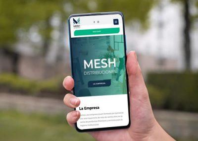 Sitio web Mesh Distribuciones