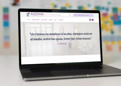 Sitio web Espacio Rizoma