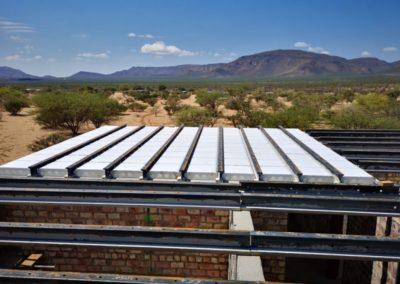 Neubau in Namibia