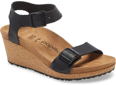 Shoes with arch support - Papillio by Birkenstock Soley Wedge Sandal | 40plusstyle.com