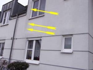 Bauexperte überprüft Fassade Immobilien Gutachten due Diligence