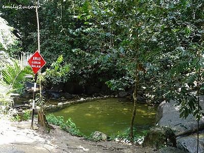 28. caution - deep pool