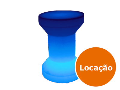 Móveis Led - Puffs, Mesas, Esferas, Poltronas, Balcões 13 banco carretel de led