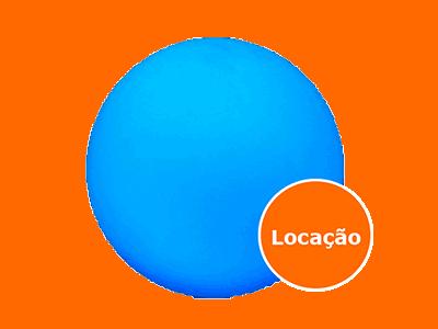 Móveis Led - Puffs, Mesas, Esferas, Poltronas, Balcões 27 esfera led locacao 400x300
