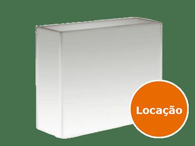 Mesa Limiter com tampo de Vidro - LOCAÇÃO 1 mesa limiter