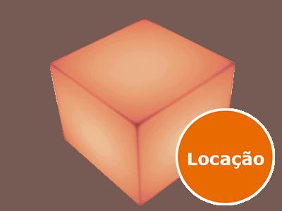 Móveis Led - Puffs, Mesas, Esferas, Poltronas, Balcões 19 8213996694 cubo 55