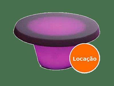 Mesa Baixa de led - Oca