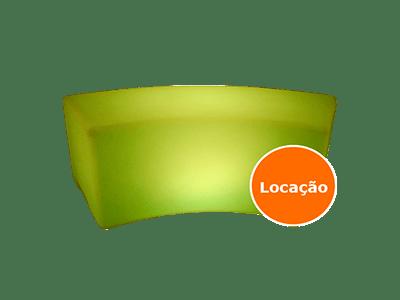 DDR Eventos - Locação de móveis led, puff de led 2 puff de led curvo locacao 400x300 1
