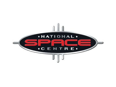 national space centre logo - storm djs