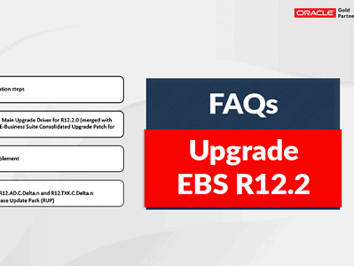 EBS R12.2 Upgrade Frequently Asked Questions
