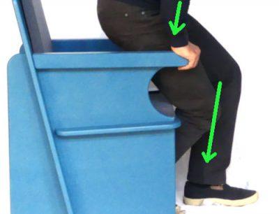 Comment se relevr d'un fauteuil